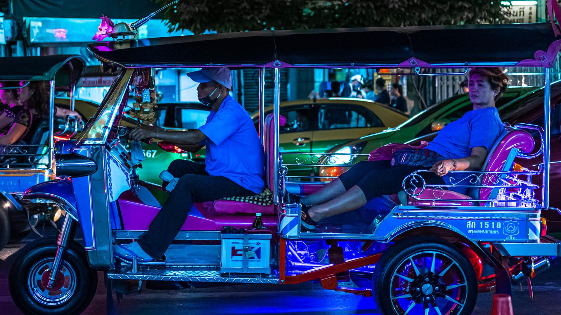 Bangkok Tuk Tuk Driver